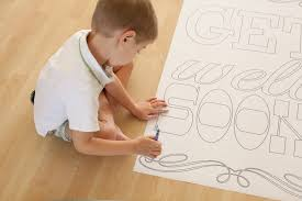 kids get well soon get well soon coloring pages for kids az coloring pages free