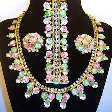 rhinestone necklace bracelet images 352 best hobe vintage costume jewelry images jpg