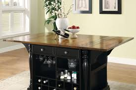 dining table with wine storage 50 kitchen island with wine storage cherry butcher block kitchen