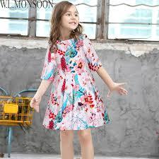monsoon dresses w l monsoon children s princess dresses flower clothes 2017