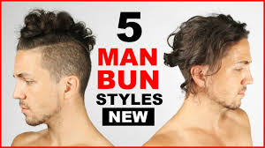 Which Hairstyle Suits Me Men by 5 Cool Man Bun Top Knot Styles Men U0027s Hairstyle Ideas Youtube