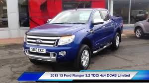 ford ranger limited 2 2 2013 13 ford ranger 4x4 limited d cab 3 2 tdci 20 000