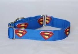 superman ribbon 1 small whippet martingale dog collar superman ribbon ebay