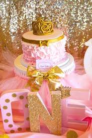 baby girl 1st birthday themes baby girl 1st birthday party themes best pink and gold