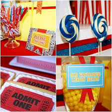 Circus Candy Buffet Ideas by 305 Best Circus Party Theme Images On Pinterest Birthday Party