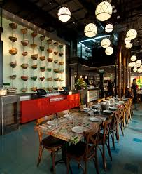 seafood restaurant with elements of arab architecture