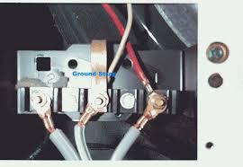 i am installing a three prong plug into my amana dryer ple7153wm