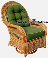 Outdoor Wicker Swivel Chair Del Ray Swivel Glider Rattan And Wicker Rockers And Swivel