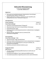 traditional resume exles traditional resume resumes chronological exle template