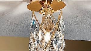 Wohnzimmerlampe Anklemmen Badezimmer Deckenleuchte Kristall Moderne Deckenleuchte Aus