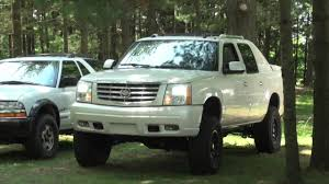 cadillac 2004 escalade lifted 2004 escalade ext cadillac bds suspension silver lake