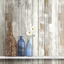 Easy Apply Wallpaper by Amazon Com Roommates Rmk9050wp 28 18 Square Feet Distressed Wood