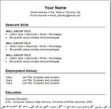 job resume formats hitecauto us