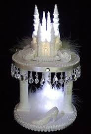 cinderella castle cake topper marilyn s caribbean cakes lighted cinderella castle slipper cake