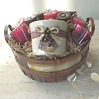 candle gift baskets candle gift baskets s day corporate gifts