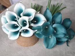 Silk Calla Lilies Discount Silk Calla Lilies Wedding Bouquet 2017 Silk Calla