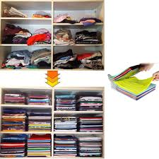 Neat Desk Organizer Reviews by 1 Layer Anti Wrinkle Neat Clothes Storage Holder Rack T Shirt