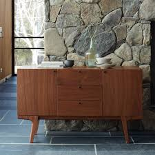 Media Cabinet West Elm Modern Media Console 53