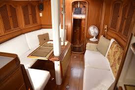 Interior Boat Cushion Fabric Sunbrella White Fabric On Cushions Sailboat Interior Pins