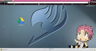chrome themes cute cute fairy tail natsu chrome theme by prasad9323 by prasad9323 on