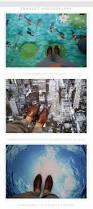 custom photo 3d flooring mural self adhesion wall sticker 3 d