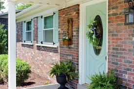 exterior wood shutters home depot diy craftsman exterior shutters