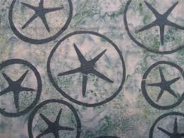 sea glass sand dollar shell ocean beach fresh water designs batik