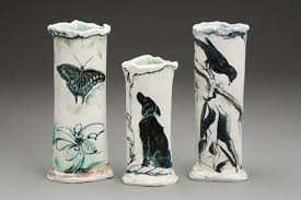 Trio Vases Vases And Vessels U2013 Laurie Shaman