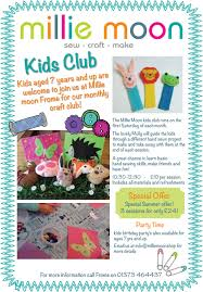 millie moon meet molly kids club sewing tutor