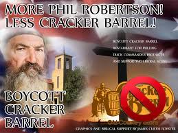 Phil Robertson Memes - boycott cracker barrel cracker barrel tries to explain
