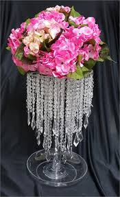 Chandelier Centerpieces Acrylic Chandelier Centerpiece Silver For Party Decoration