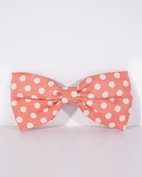 hair bow pink polka dot print hair bow vintage inspired fashion lindy bop