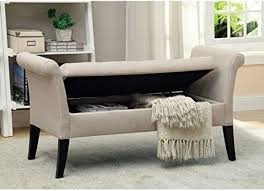 Bed Ottoman Bench End Of Bed Bench Roma Tufted End Of Bed Bench Dorel Living Target