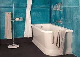 Shower Curtain For Roll Top Bath Space Saving Corner Baths Albion Bath Co