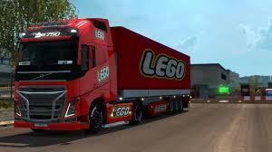volvo lego combo v1 skin euro truck simulator 2 mods
