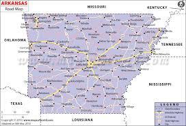 state of arkansas map arkansas road map road in arkansas