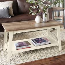 better homes and gardens bedford coffee table ivory walmart com