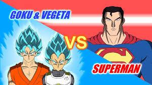 superman goku vegeta animation multiverse wars