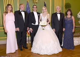 third marriage wedding dress steven mnuchin marries fiancee in dc ceremony daily mail