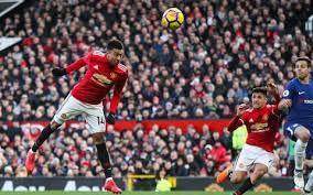 Manchester United Utd 2 Chelsea 1 Romelu Lukaku And Lingard Score In
