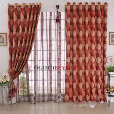 charming printed patterns blackout red curtains buy red print