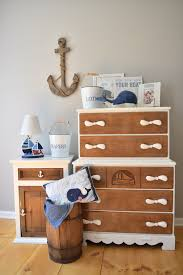 Hand Painted Love Anchors The - nautical dresser set lilly and cedar