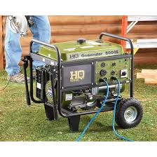 hq issue gas generator 8 000 watt 660401 portable generators