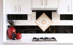 backsplash for black and white kitchen black and white kitchen designs ideas and photos