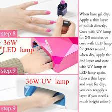 perfect summer uv gel nail polish soak off led uv nail gel