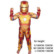 kid muscle costumes captain america iron man thor spider man