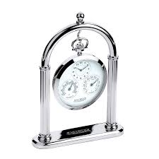 jean pierre executive weather station and desk clock set d15