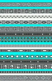 blue and gray tribal aztec print wallpapers doodles designs