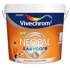 easy care οικολογικό πλαστικό χρώμα neopal easycare eco vivechrom