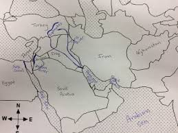 East Africa Map Quiz by Middle East Geography Mr Schilling U0027s Classroom